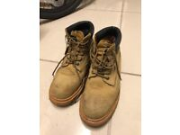 StonePeak Safety Boots-Wheat Color, Size 9 UK