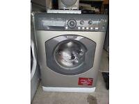 hotpoit washing machine silver 6kg