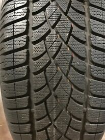 4 x 205/45/R20 Dunlop Sport 3D winter tyres - nearly as new with only 1 season appx 2,000 miles