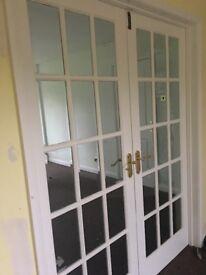 Internal Glass French doors