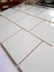 Glacier blue tiles. Bathroom. Kitchen