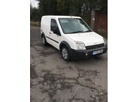 2005 ford transit connect 5 seat crew van with side loading door