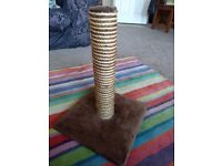 Unused Great & Small cat scratching post