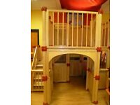 LARGE IMMACULATE INDOOR CHILDREN'S LOFT SUITABLE FOR CHILDCARE FACILITY