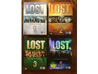 Lost seasons 1-4