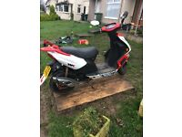 07407358140. Wk. 125 moped scooter