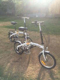 2 Pyramid foldable bicycle