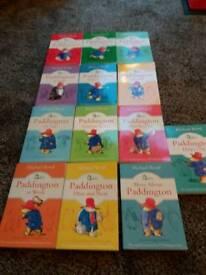 Paddington Bear set of 13 Books