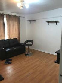 One bed room flat for rent full furnished