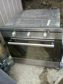 Oven Indesit single electric fan oven