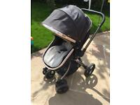 Mothercare Orb Pushchair Pram All in one Includes Raincover and cosytoes