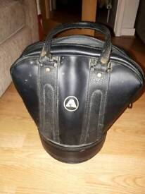 Leather Practice Shag bag and 30 decent balls for play or practice £50