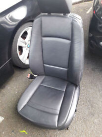 BMW E92 3 Series Coupe Leather Interior Seats, Door Cards, Memory, Electric