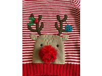 Baby Christmas jumper 6-9 months