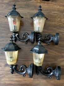VICTORIAN ANTIQUE STYLE WALL LIGHTS