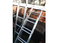 3 SECTION aluminium loft ladder