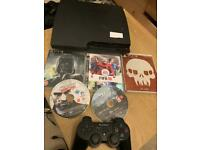 160gb Sony ps3 slim console with games