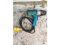 Makita 1/2 drive socket impact gun nut runner 110v