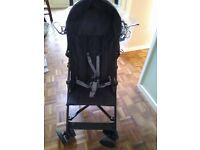 Black single buggy