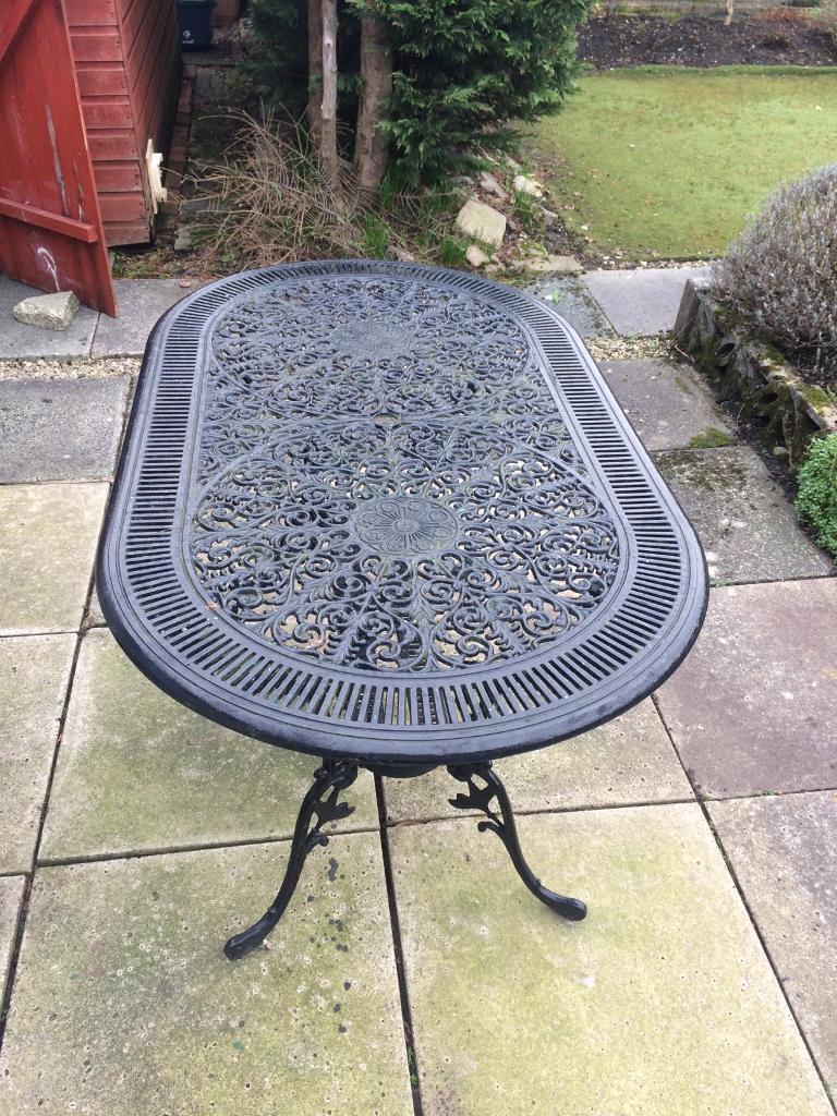 Cast Iron Table In Fulwood Lancashire Gumtree