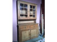 Victorian/Edwardian Pine Welsh Dresser