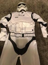 Stars wars dress up outfit age 9-10