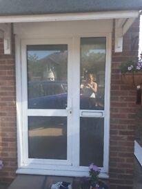 Upvc Front Door and Side Panel