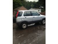Daihatsu terrorists very good 4x4 clean tidy runs like a dream