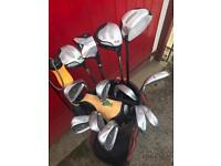 Good quality golf clubs for sale.
