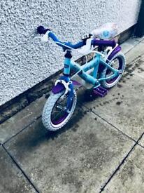 "Disney Frozen Bike - 14"" Wheel"