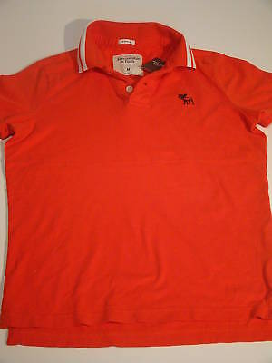 NWT ABERCROMBIE & FITCH MENS MUSCLE POLO SHIRT SIZE XL for sale  Shipping to India