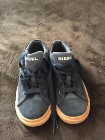 Diesel trainers size 1