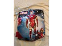 Men's Iron Man Fancy Dress Costume
