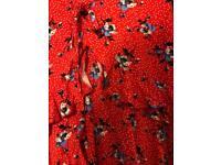 Petite Topshop floral dress.
