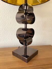 Table Lamp Bronze Finish