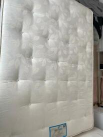 Double Mattress and protector.