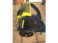 Halfords trail buggy kids cycle trailer