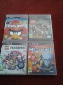 4 x PS3 Games for sale.