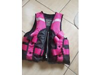 Childrens Pink/Purple Swimming Vest