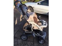 Graco Pram with motion cotrol