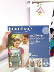 Infantino ergonomic hoodie baby carrier