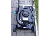 MAC ALLISTER SELF PROPELLED PETROL MOWER, NOT WORKING, 2017 model SPARES/repairs only, £35 ono,