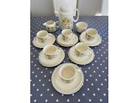 Vintage Meakin Hedgrow Tea Set - 21 piece