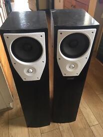 Mission M73i speakers