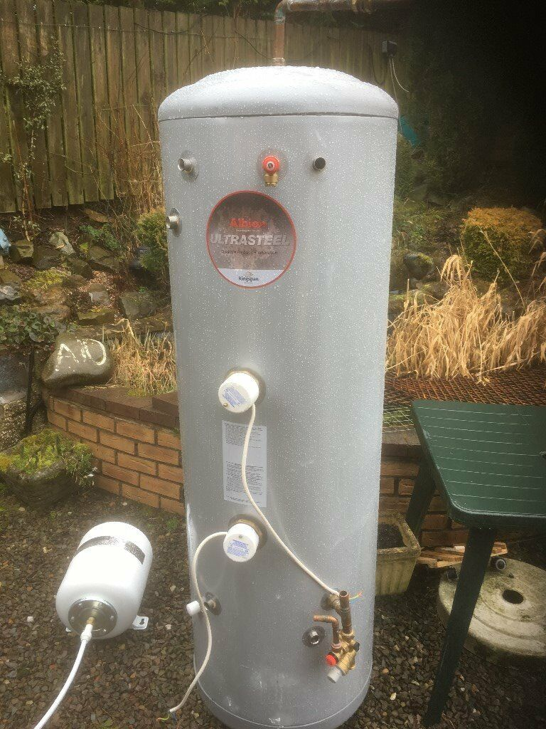 Kingspan Albion Ultrasteel mains pressure hot water tank with solar ...