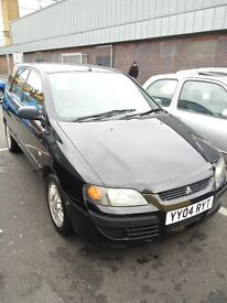 £450. Black Mitsubishi SPACE STAR, manual, 1.3, 2004, petrol, clean inside out, 1st to c will buy.