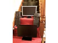 Monitors and keybiards