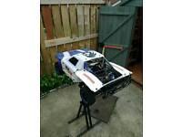 Kingmotor x2 petrol rc car 1/5 scale losi 5t*bargain*
