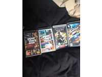PSP games for sale £3 each