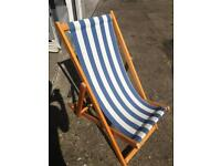 Deck chairs x 8